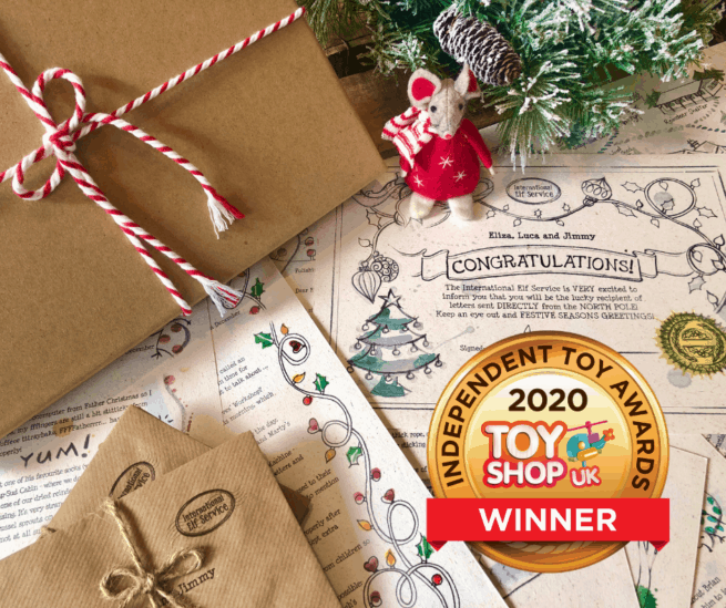 Stunningly hand-illustrated, personalised and eco-friendly letters from International Elf Service: Gold Award-winning Advent Calendar, with new adventures every year. A wonderful way to inspire children to read, bring Christmas magic into your home and create precious childhood memories together.
