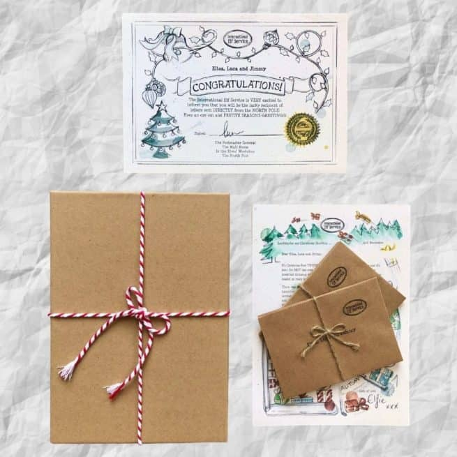 Gold Award Winning for Best Advent Calendar by International Elf Service. Daily Christmas Elf Letters from the North Pole, for children to find mysteriously around their home.