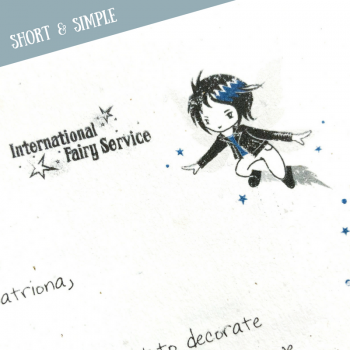 Short & Simple Fairy Letters No. 04