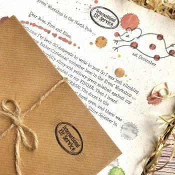 Advent Calendar: Elfie's Christmas Letters 2018