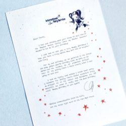 Fairy Letters No. 23 - Happy Birthday!