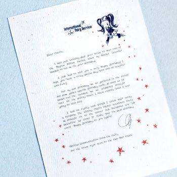 Fairy Letters No. 23 - Happy Birthday!