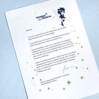 Fairy Letters No. 24 - Happy Birthday!