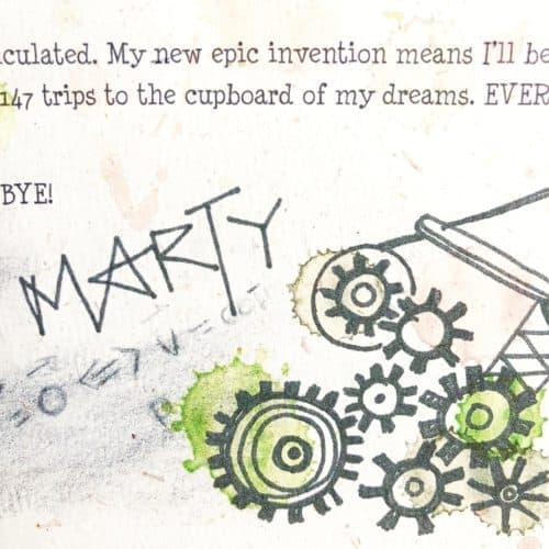 Single Elf Letter - Marty's Catapult Launcher