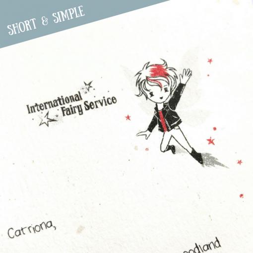 Short & SIMPLE Fairy Letters No. 05
