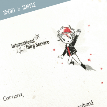 Short & Simple Tooth Fairy Letters No. 02