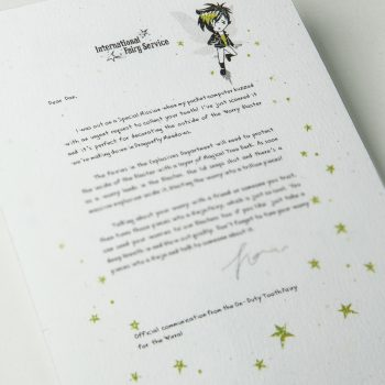 Fairy Letters No. 01 - The Worry Blaster