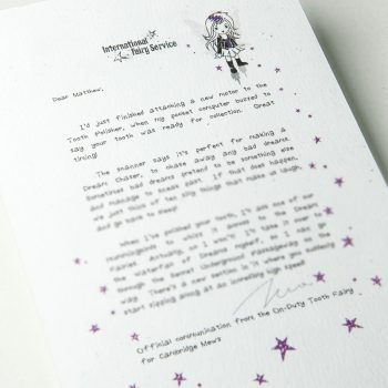 Tooth Fairy Letters No. 02 - Bad Dream Chaser