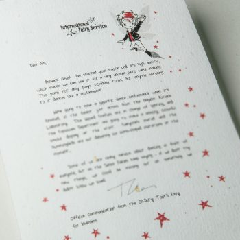 Fairy Letters No. 10 - Trying New Things