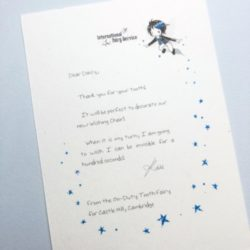 Short & SIMPLE Tooth Fairy Letters No. 04