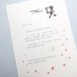 Short & Simple Tooth Fairy Letters No. 05