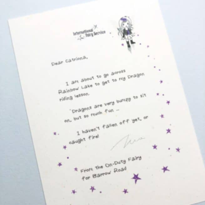 Short & Simple Fairy Letters No. 03