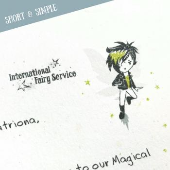 Short & Simple Fairy Letters No. 01
