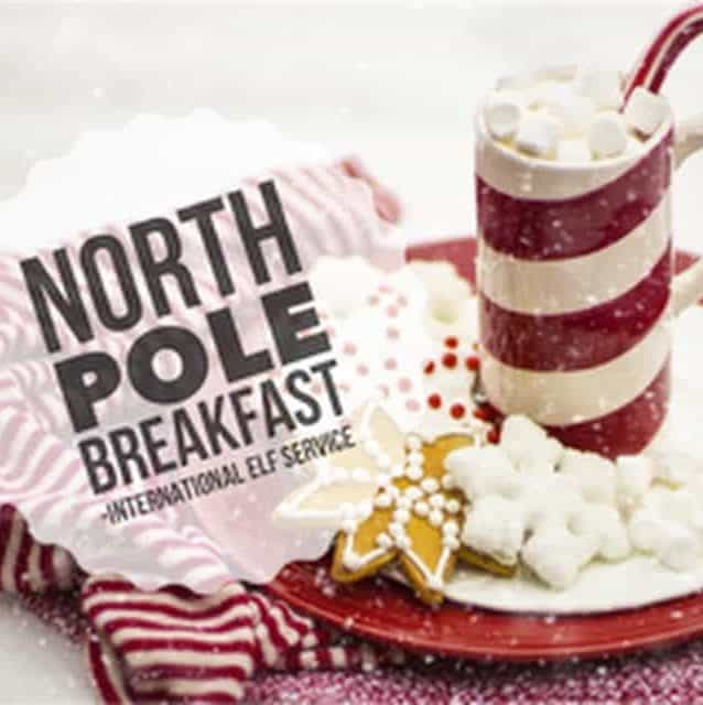 A North Pole Breakfast is an amazingly magical Christmas Tradition and Christmas Activity for children. See what others do in this article by the International Elf Service