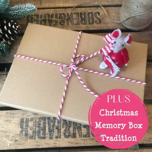 Elf Letters Advent Calendar Plus Christmas Memory Box Tradition from International Elf Service in the North Pole