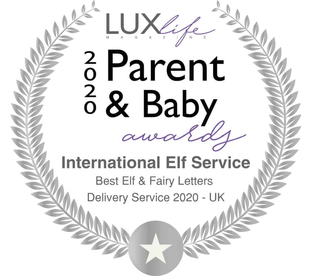 International Elf Service won Best Elf & Fairy Letters Delivery Service in the 2020 Lux Life Parent & Baby Awards