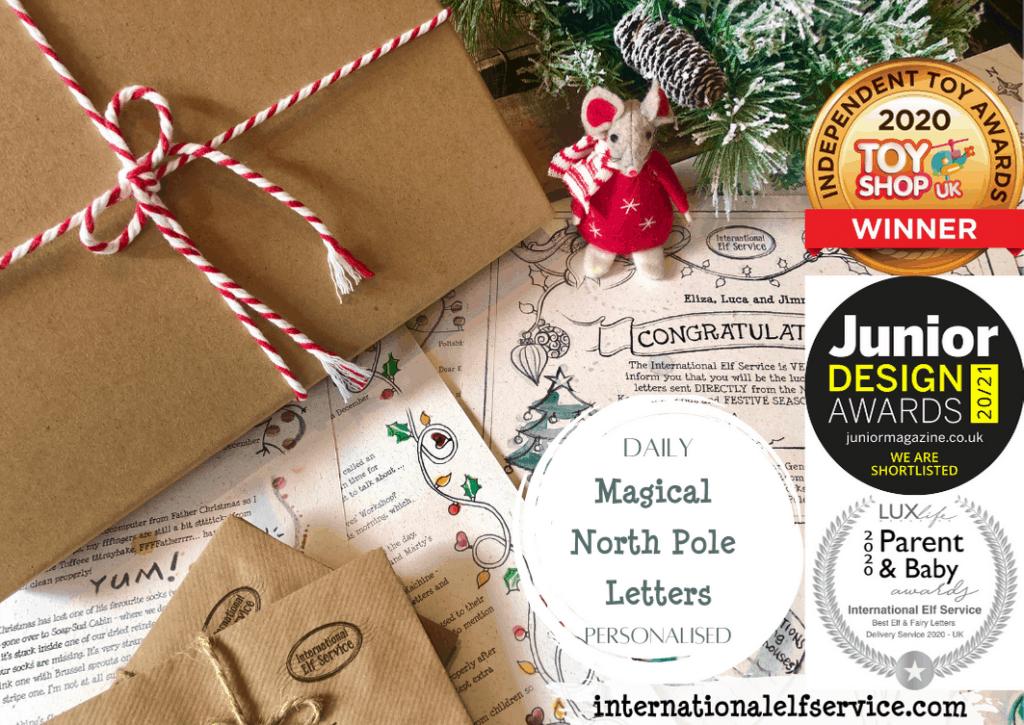 Personalised Christmas Elf & Tooth Fairy Letters   International