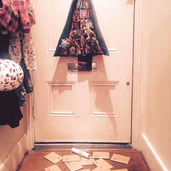 Lots of elf letters from the North Pole have been delivered all at once!