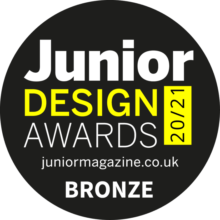 International Elf Service Personalised North Pole Letters scooped bronze in the prestigious Junior Design Awards 20/21