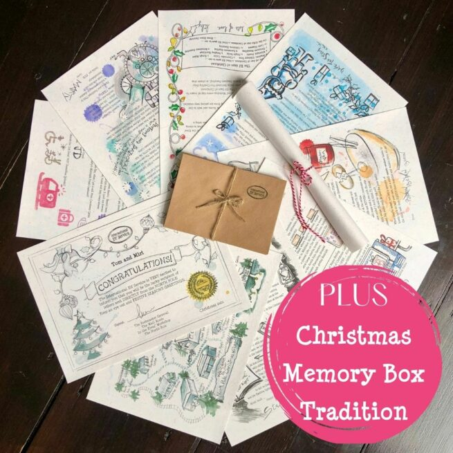 Newsy Christmas Elf Letters Plus Christmas memory Box tradition from International Elf Service