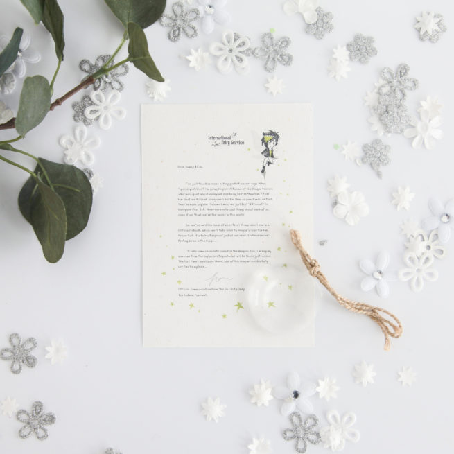 A personalised Fairy Letter from international Elf Service about comparing yourself to others.