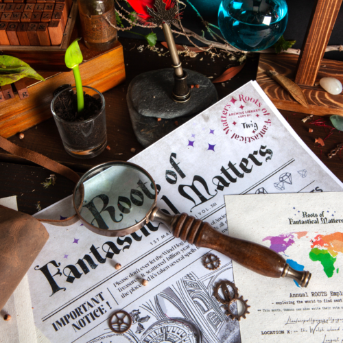 Children receive personalised copies of articles, documents and chronicles from Roots of Fantastical Matters, the most magical archive in the world. Story-based learning with STREAM related activities.