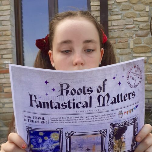 The most Magical Archive in the world ... Roots of Fantastical Matters - six or 12 'monthly' Fantastical Deliveries, delivered in 6 month bundles for reduced environmental impact.