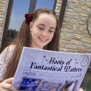 Roots of Fantastical Matters is an exciting new magical literary adventure, subscription-style product for all curious 6-12 year olds.