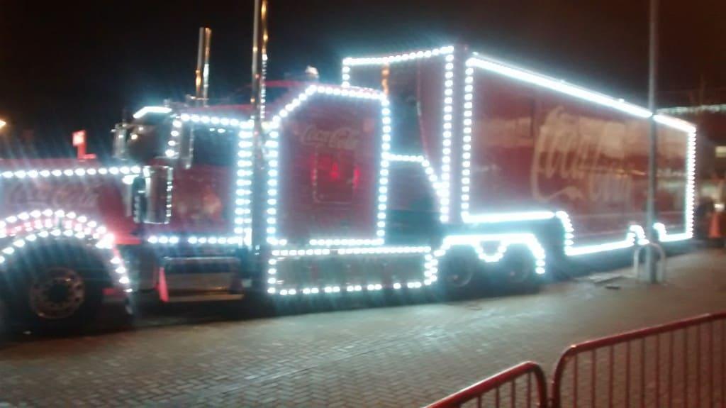 Christmas Coca Cola Lorry