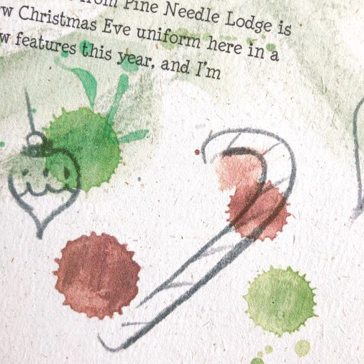 'Away For Christmas' is a beautifully illustrated personalised letter ... for all children worried Father Christmas won't know where they are to deliver their presents!