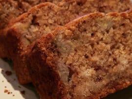 Oaty Banana Bread – Vegan & Gluten Free