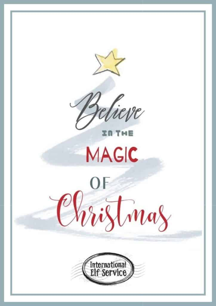 Free Polar Express Christmas Bell Tags Printable by the International Elf Service.