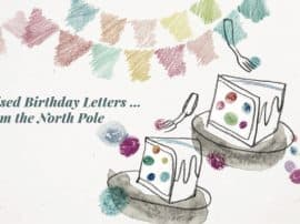 Personalised, Handcrafted North Pole Birthday Letters … Written By A Christmas Elf!