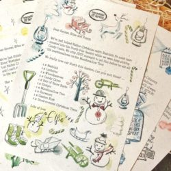 Christmas Activities and Educational rainy day things for school's to do on the Countdown to Christmas! Candy Cane Christmas Letter Bundle 2019 - activity Elf letter bundle from the International Elf Service for the countdown to Christmas!