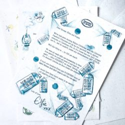 The International Elf Service delivers these Activity Advent Elf Letters from the North Pole For a Very Magical December