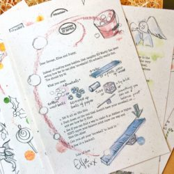 Have a magical Christmas countdown with this year's Candy Cane Christmas Letter Bundle 2019 - activity based Advent Elf letter bundle from the International Elf Service for the most magical December!