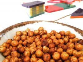 Home Roasted Spiced Chickpeas