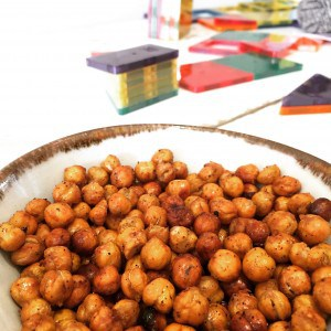 Home Roasted Chickpeas - Healthy Protein Snack