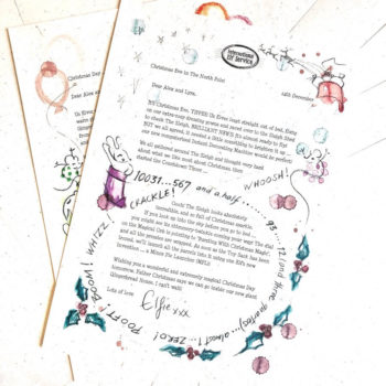 Your children can find out news from the Elves got on Christmas Eve this year, in this personalised Boxing Day Elf letter from the international Elf Service