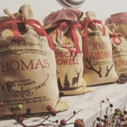 Amazingly magical personalised Christmas sacks, offered by the International Elf Service