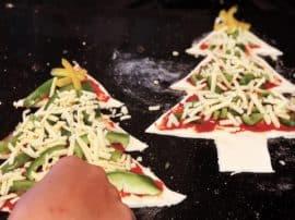 Easy Christmas Tree Pizza Recipe & Templates! (Dairy & Gluten Free Options)