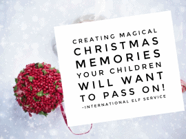 Creating Magical Christmas Memories Your Children Will Want To Pass On To Their Children!