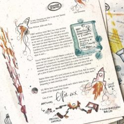 Elfie's Christmas Letters - an Advent Elf Letter Bundle for the countdown to Christmas from the International Elf Service