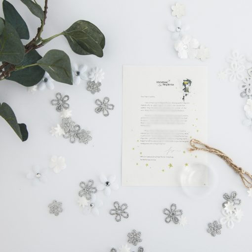 Worry Blaster: a personalised, magical Fairy letter from the International Elf Service. Designed to help support your child's emotional health and development.