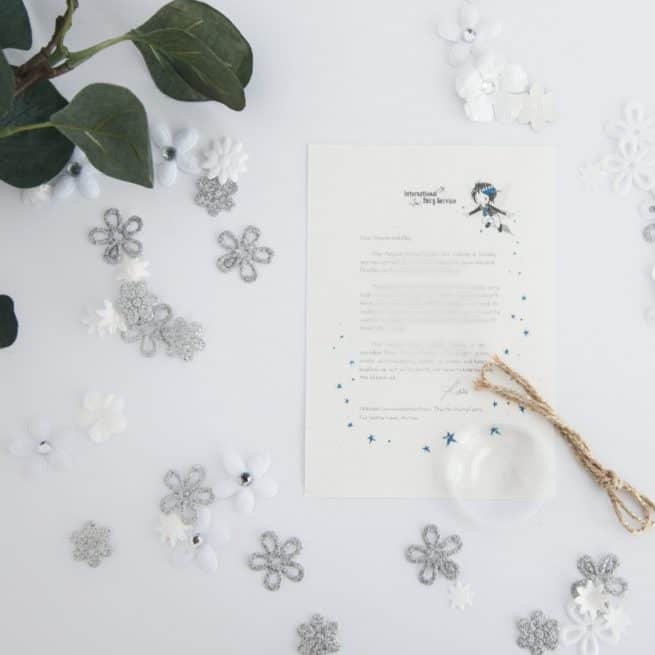Unkindness & Feeling Sorry: a personalised, magical Fairy letter from the International Elf Service. Designed to help support your child's emotional health and development.