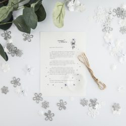 Standing Up For Yourself - Personalised Fairy Letter from the International Elf Service, on 100% recycled paper