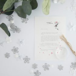 Trying New Things - Personalised Fairy Letter from the International Elf Service, on 100% recycled paper