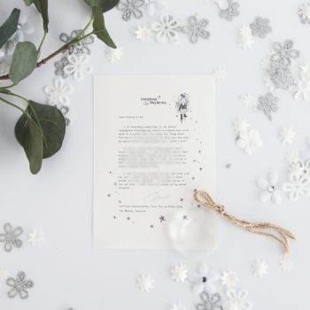 Honesty & Owning Up: personalised FAIRY Letter No. 15 magical letters on exquisite 100% recycled paper from the International Elf Service