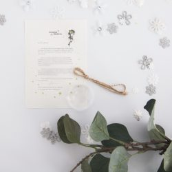 Be Yourself: Personalised FAIRY Letter No. 16 - magical letters on exquisite 100% recycled paper from the International Elf Service