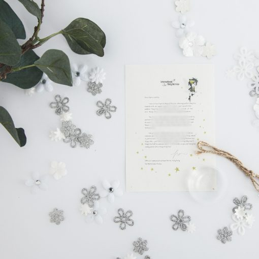 Personalised Fairy Letter that aims to support children learning about which secrets are ok and which secrets should be told to a grown up.